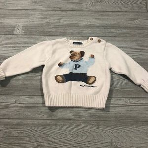 🧸Polo • Polo Bear Sweater